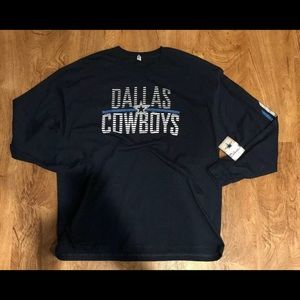 Dallas Cowboys Long Sleeve T-Shirt Size 2XL Blue